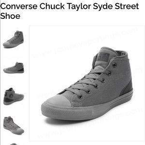 Converse Unisex Chuck Taylor Syde Street Shoe Gray
